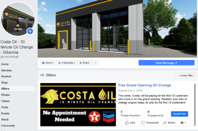 Free Oil Changes At 215 Richland Mall Gibsonia PA Costa Oil – 10 Minute Oil Change – Gibsonia